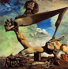Foreshadowing the conflict: Salvador Dalí's Soft Construction with Boiled Beans (Premonition of Civil War) (1936)