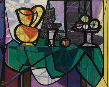 Pitcher and Bowl of Fruit, Picasso (1907)